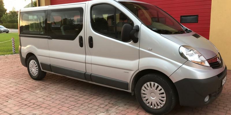 BUS 9 OSÓB Opel Vivaro