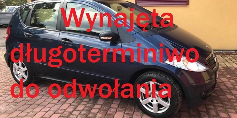 Mercedes A-Klasa Benzyna/GAZ
